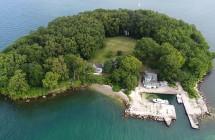 Hen Island by Drone